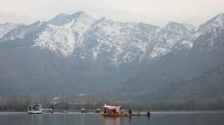 Dal Lake boats